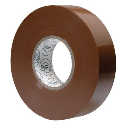 Electrical Tape Brown E1820 18MMx20M 7MIL 200/CS