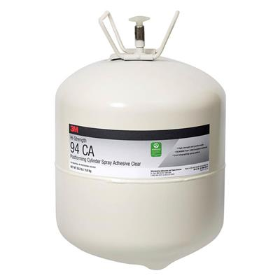 Spray Adhesive - Scotch-Weld™ High Strength Postforming Clear 94CA 26.2LB CYLINDER 1/CS