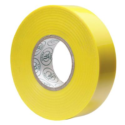 Electrical Tape Yellow E1820 18MMx20M 7MIL 200/CS