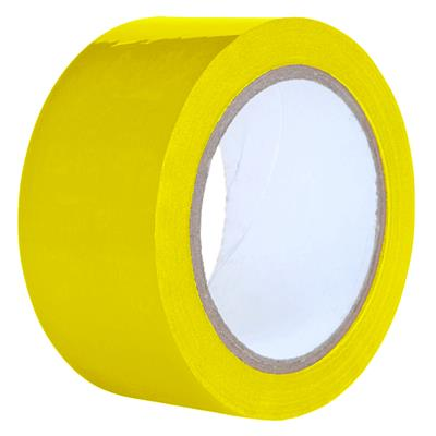 Packaging Tape - PVC Yellow PVC 9MMx66M 2.2MIL 32/PK 192/CS