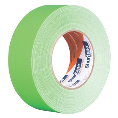 Cloth Duct Tape - Polyethylene Coated Neon Green PC619 48MMx55M 9MIL 24/CS