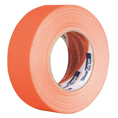 Cloth Duct Tape - Polyethylene Coated Orange PC600 48MMx55M 9MIL 24/CS