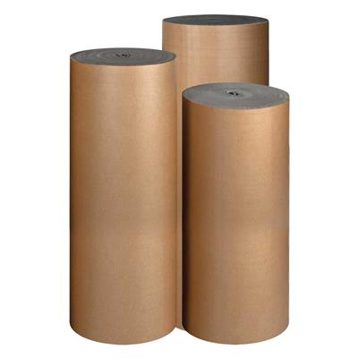 Corrugated Cardboard Roll Single Faced B-Flute COR-B 72INx250FT 6/SKID
