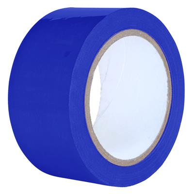 Packaging Tape - PVC Blue PVC 12MMx66M 2.2MIL 144/CS