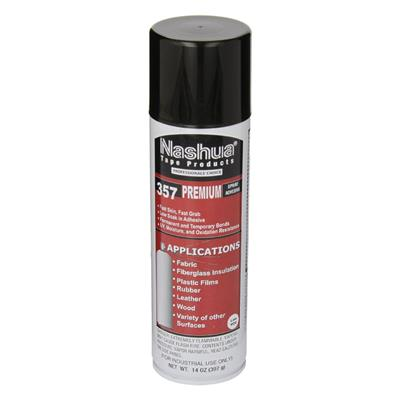 Spray Adhesive - Premium Web White 357 14OZ CAN 12/CS