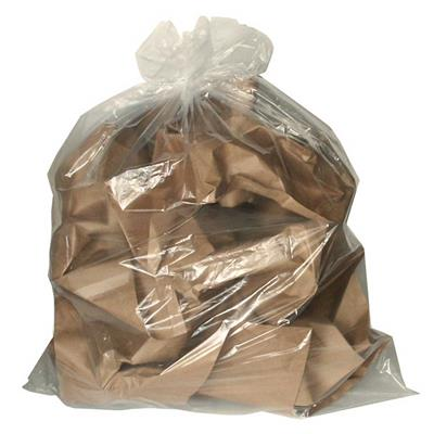 Garbage Bags - Extra Strong Clear GBXS 30INx38IN 125/CS