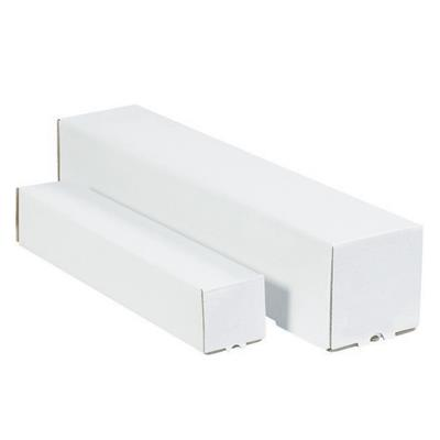 Box Panel Folder - Self-Locking White/Kraft Inside FPF 3.5INx3.5INx37.25IN 50/BDL