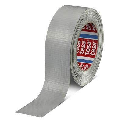 Cloth Duct Tape - Polyethylene Coated Silver 64662 48MMx55M 9MIL 24/CS