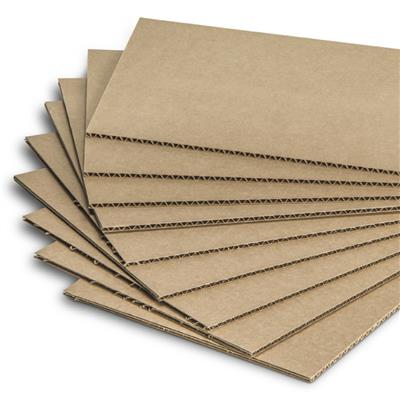 Corrugated Cardboard Sheets - 32 ECT Kraft CS 17INx23IN 1200/SKID