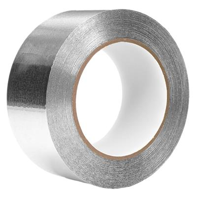 Foil Tape - Aluminum with Kraft Liner Silver TF5004 48MMx45M 2MIL 24/CS