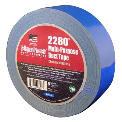 Cloth Duct Tape - Polyethylene Coated Blue 2280 48MMx55M 9MIL 24/CS