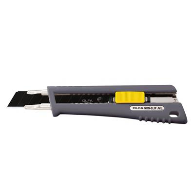Utility Knife - Heavy Duty Rubber Grip Auto-Lock NL-AL 6/BX
