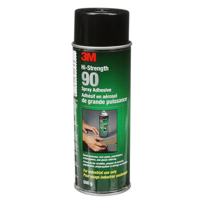 Spray Adhesive - Hi-Strength Clear 90 24OZ CAN 12/CS