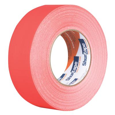 Cloth Duct Tape - Polyethylene Coated Neon Orange PC619 48MMx55M 9MIL 24/CS