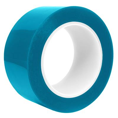 Polyester Film Tape - Silicone Blue MYP-3US 72MMx66M 3MIL 6/CS