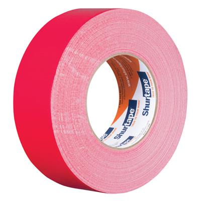 Cloth Duct Tape - Polyethylene Coated Red PC600 48MMx55M 9MIL 24/CS