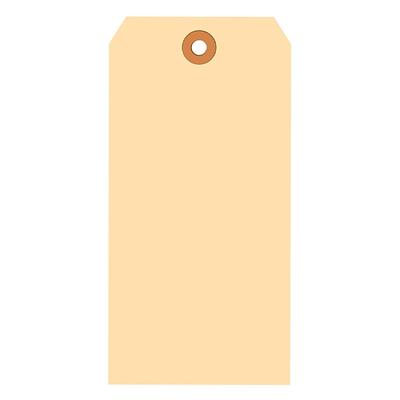 Shipping Tags Kraft ST8 3.125INx6.25IN #8 1000/BX