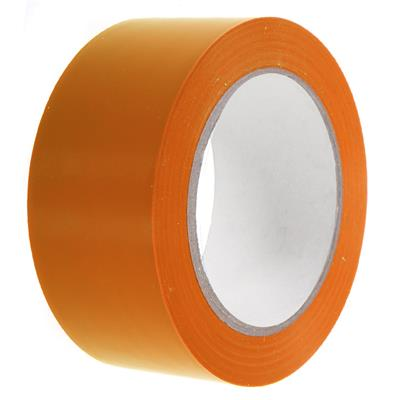 PVC Tape - Lane Marking Orange LMT 12MMx33M 6MIL 24/CS