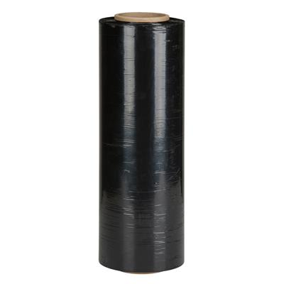 Stretch Film - Blown 1580 Black Opaque HW 15INx1500FT 80G 4/CS 192/SKID