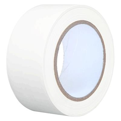 Packaging Tape - PVC White PVC 48MMx66M 2.2MIL 36/CS