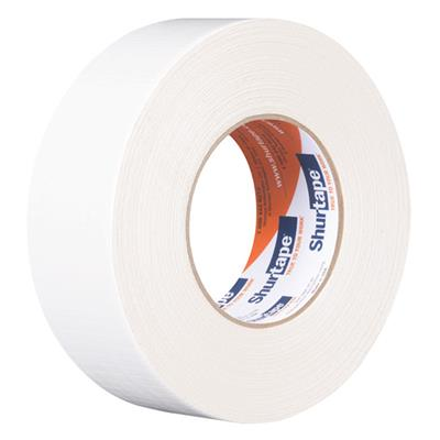 Cloth Duct Tape - Polyethylene Coated White PC600 48MMx55M 9MIL 24/CS