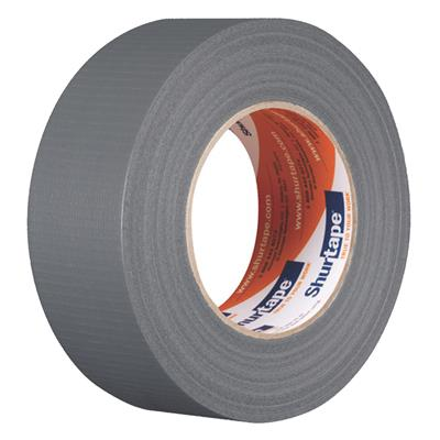 Cloth Duct Tape - Polyethylene Coated Silver PC610 48MMx55M 10MIL 24/CS