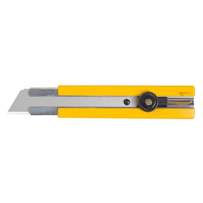 Utility Knife - Extra Heavy Duty Rubber Inset Grip Ratchet-Lock H-1 6/BX