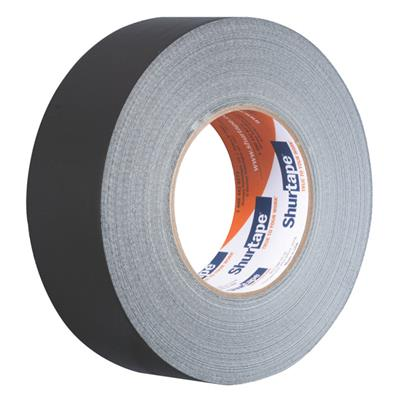 Cloth Duct Tape - Polyethylene Coated Black PC600 48MMx55M 9MIL 24/CS