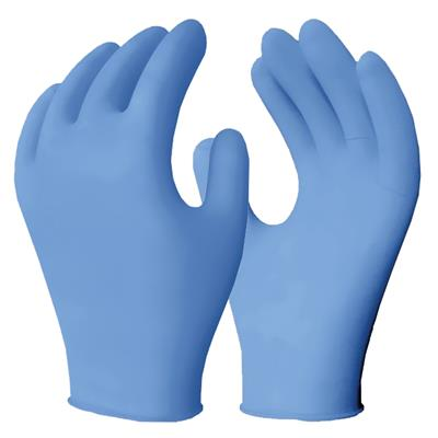 Gloves - Disposable Examination Powder Free Blue NE2 4MIL Medium 100/BX 10/CS