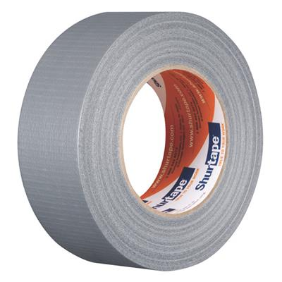 Cloth Duct Tape - Polyethylene Coated Silver PC600 48MMx55M 9MIL 24/CS