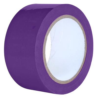 Packaging Tape - PVC Purple PVC 9MMx66M 2.2MIL 32/PK 192/CS