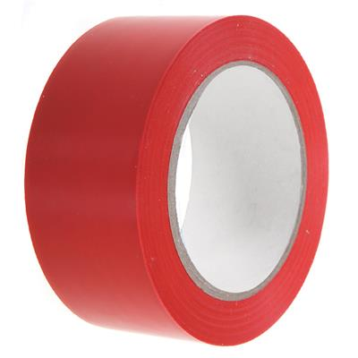 PVC Tape - Lane Marking Red LMT 24MMx33M 6MIL 12/CS