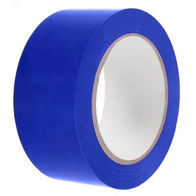 PVC Tape - Lane Marking Blue LMT 24MMx33M 6MIL 12/CS