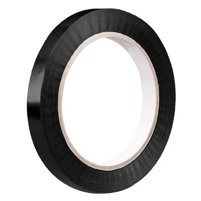 Strapping Tape Black 105 12MMx55M 2.8MIL 144/CS