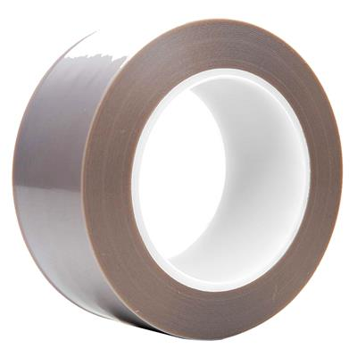 PTFE Pressure Sensitive Tape - High Density Skived Silicone DW204-2HD 4INx33M 2MIL 6/CS