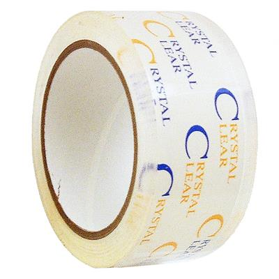 Packaging Tape Polypropylene - Acrylic Crystal Clear OPP-22CC 24MMx50M 2.2MIL 72/CS