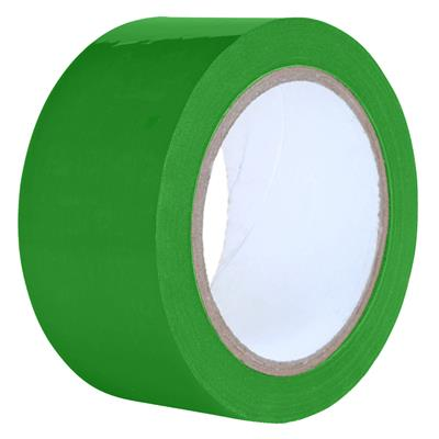 Packaging Tape - PVC Green PVC 24MMx66M 2.2MIL 72/CS