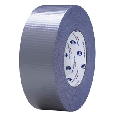 Cloth Duct Tape - Polyethylene Coated Silver AC20 48MMx55M 9MIL 24/CS