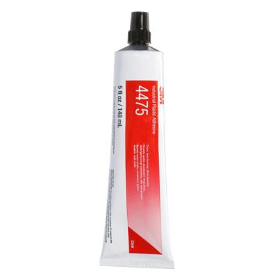 Industrial Plastic Adhesive - Scotch-Weld™ Clear 4475 5OZ BOTTLE 36/CS