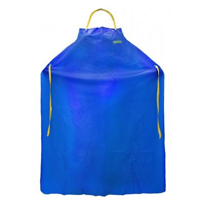 Apron - CoverMe™ Vinyl Blue 41-532 35INx45IN 8MIL One Size 12/PK 72/CS