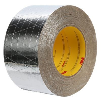 FSK Facing Tape - Venture Tape™ Silver 1525CW 72MMx45M 9.5MIL 16/CS