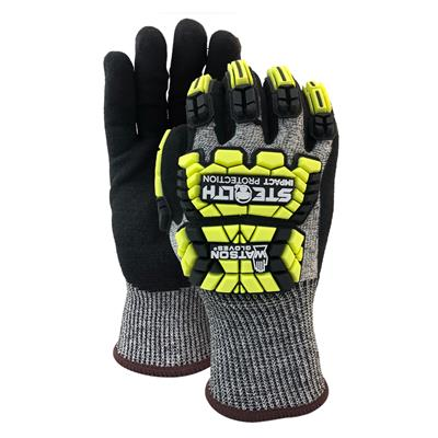 Gloves - Cut Resistant Nitrile Foam Coated Stealth Xtreme Hellcat Black 353TPR X-Large 6PR/PK 60/CS