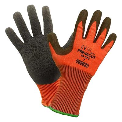 Gloves - Cut Resistant Tri-Polymer Nitrile Palm Coated PrimaCut™ Red/Brown 69-570 X-Large 6PR/PK 48/