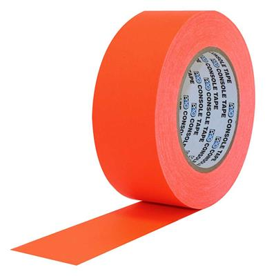 Flatback Paper Tape Neon Orange PTPA1255 12MMx55M 5.8MIL 72/CS