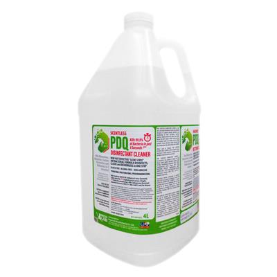 Disinfectant Cleaner - Antibacterial Scentless PDQ 4L 4/CS